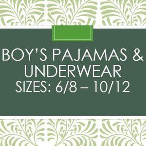 Other - Boy's Youth PJs & Underwear